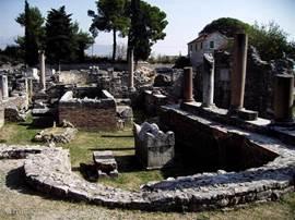 Salona opgravingen bij Split