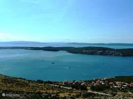 Ciovo vanaf het vasteland