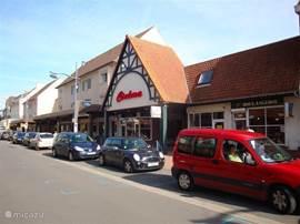 Winkels zijn op zondag geopend.