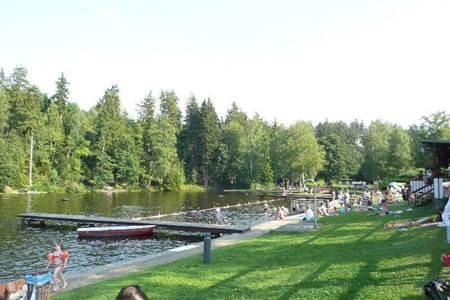 Zwemmen in Waldseebad