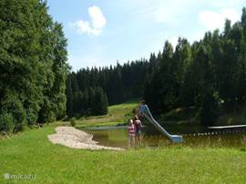 Swimming in a Naturbad