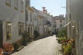 Straatje in Póvoa e Meadas