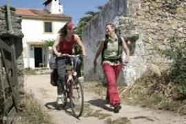 Wandel- en fietsroutes gratis beschikbaar