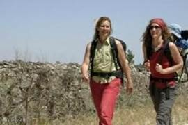 Wandelen in natuurpark, meer dan 25 routes