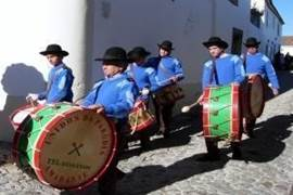 Muziek tijdens het kastanjefestival in Marvão