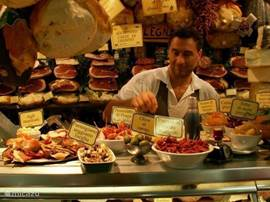 Genieten van de Toscaanse keuken.