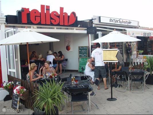 Lekkere, gezellige restaurantjes op 250 m loopafstand