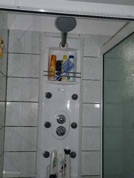 Luxury shower with side jets in each bathroom