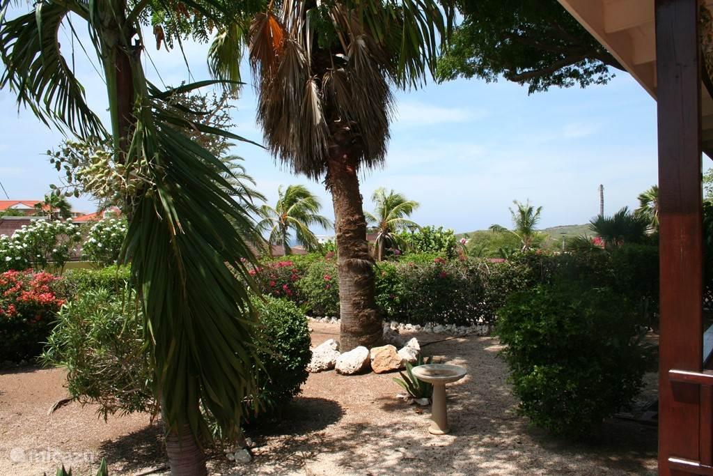 De schitterende tuin van Villa Luna