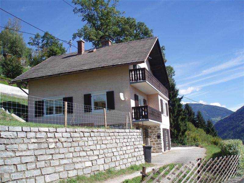 Vakantiehuis Oostenrijk, Karinthië, Dobriach villa Haus Brunner