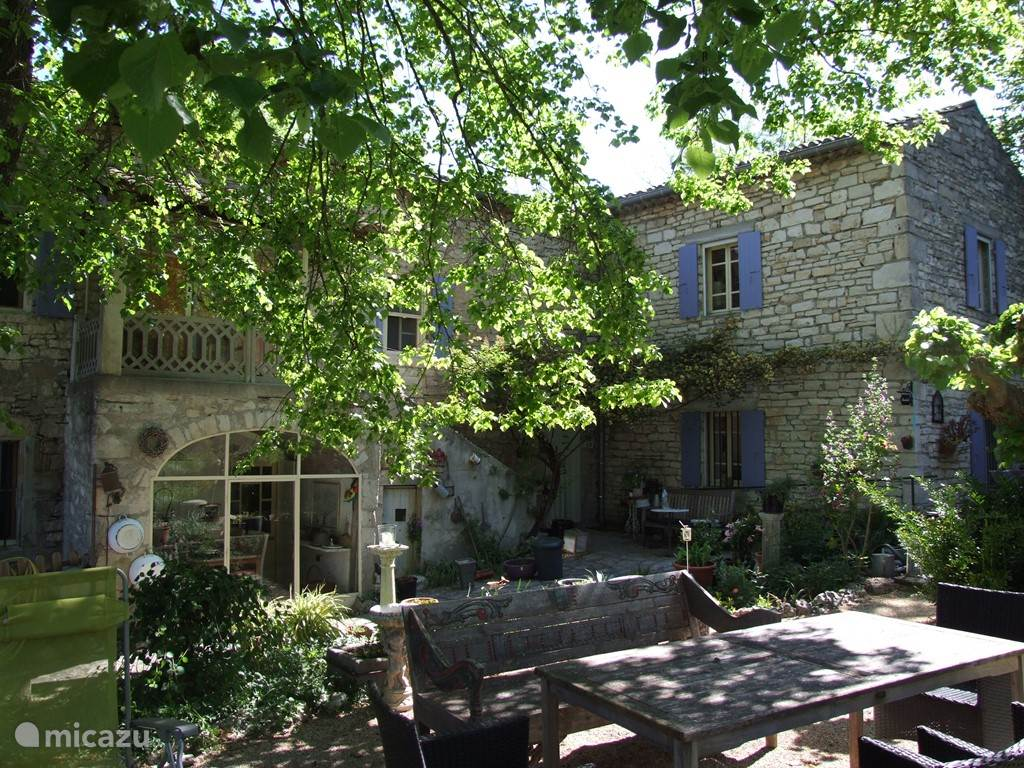 Vacation rental France, Ardèche, Salavas Holiday house Bacchelot