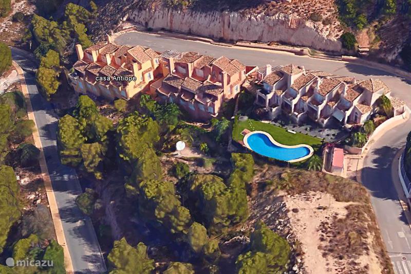 Vacation rental Spain, Costa Blanca, Altea Terraced House Casa Antiope
