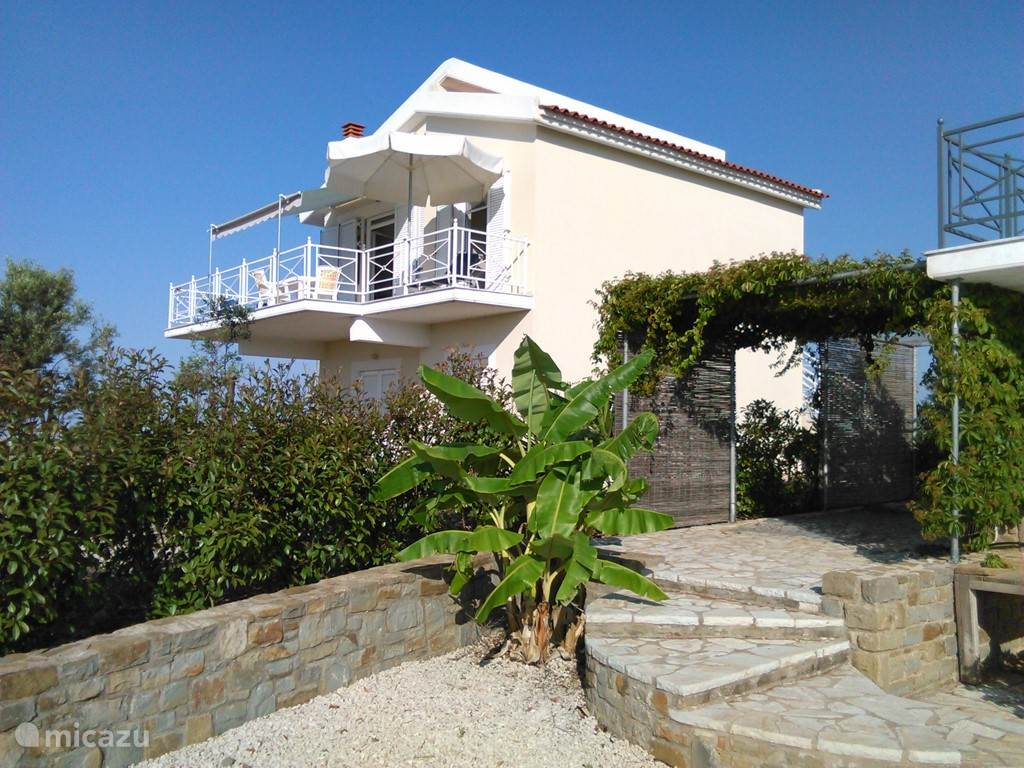 Vacation rental Greece – holiday house Villa Thea Thalassa Evangelismos