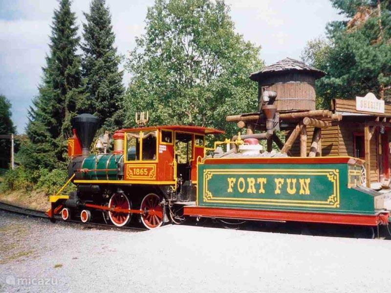 Fort Fun a Western amusement for the whole family is approximately 15 minutes drive.