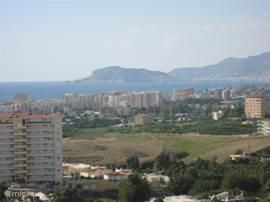 Prachtig uitzicht over zee en Alanya