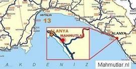 Locatie nabij Alanya op loopafstand van zee