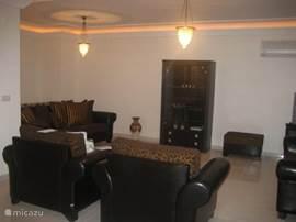 Gemakkelijk luxe en gezellige woonkamer