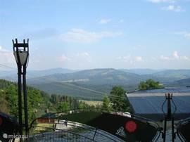 Uitzicht vanaf een terrasje in de buurt...