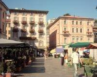 The smart rich picturesque Lugano with nice terraces, promenade, Funicolare, luxury shopping, gourmet food!