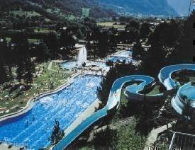 Zwemmen in omgeving fiesch