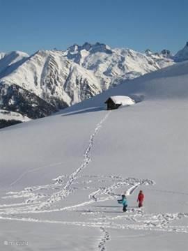 prachtig uitgebreid wintersportgebied.