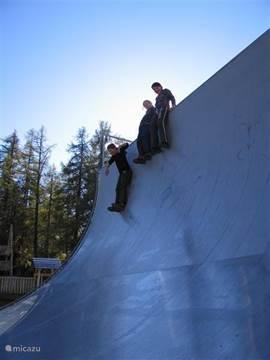 Skatebaan in Bellwald