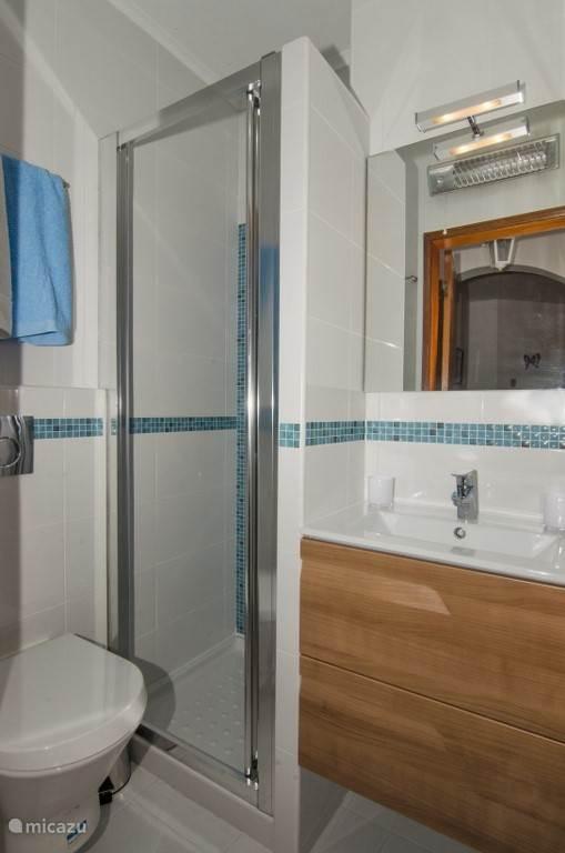 Badkamer klein met douche