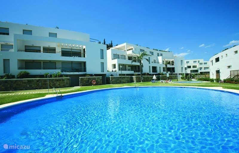 Vakantiehuis Spanje, Costa del Sol, Marbella - appartement Lomas de Los Monteros