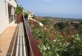 Uitzicht vanuit terras