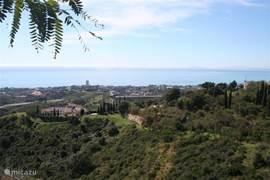 Uitzicht vanuit het complex vlakbij ons appartement
