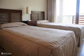 2e slaapkamer, 2 x 1 persoonsbed
