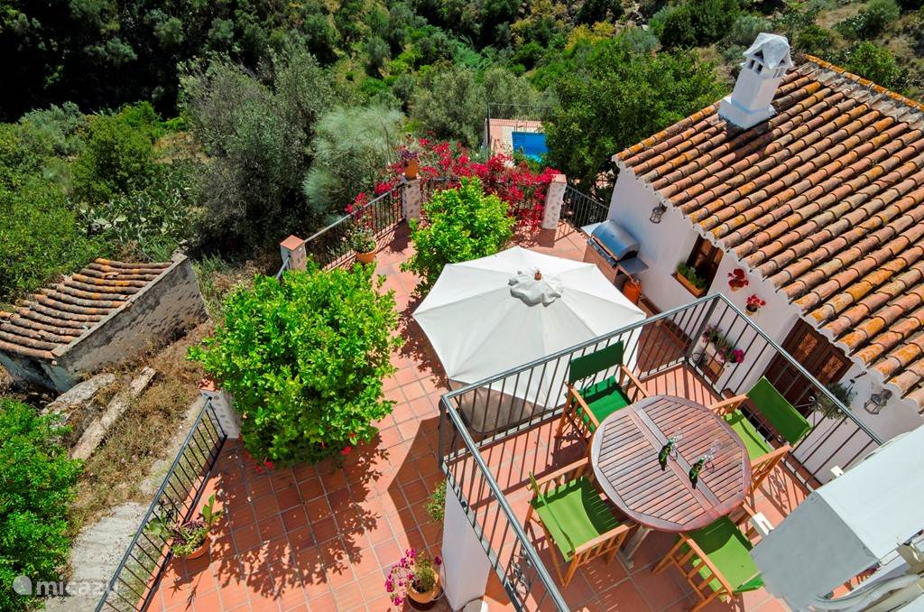 Vakantiehuis Spanje, Andalusië, Los Capitos vakantiehuis La Casa Del Algarrobo