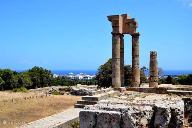 Acropolis van Rhodos