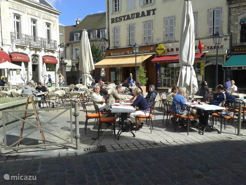 Beaune in the spring