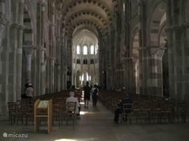 Veselay: the basilica