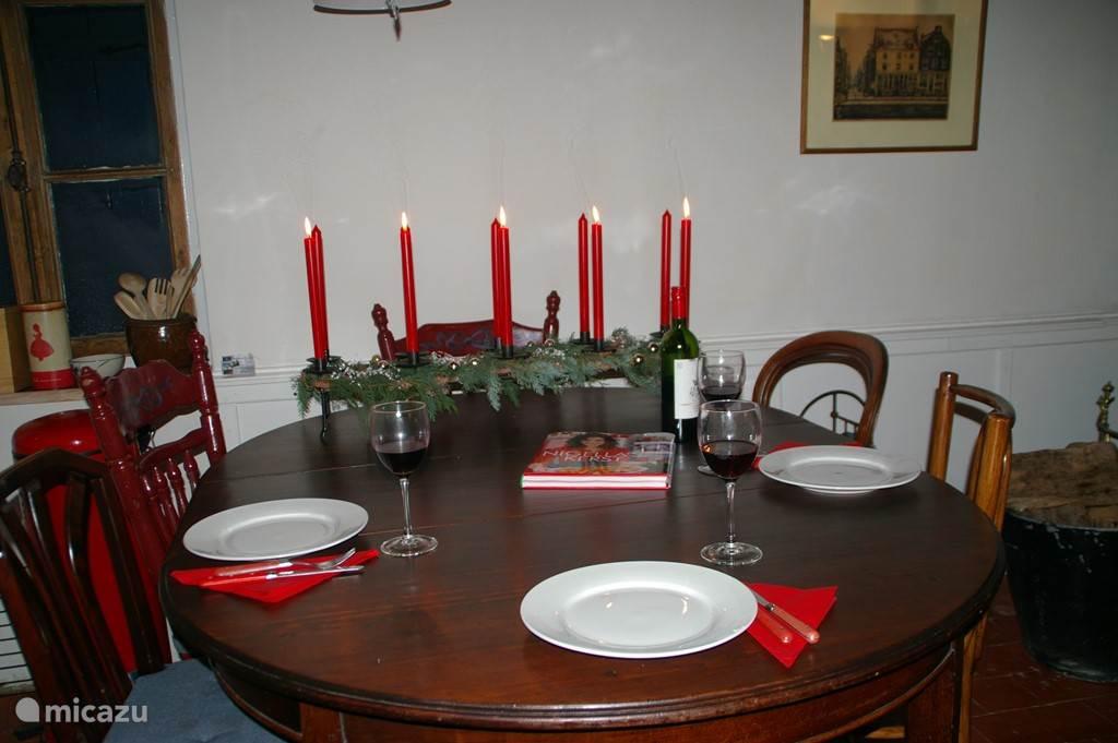 Kerst in ons huisWeihnachten in Montpensy