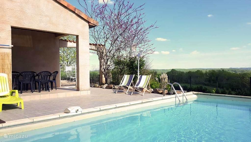 Vakantiehuis Frankrijk, Dordogne, Tourtoirac villa La Truffiere - Residence La Roseraie