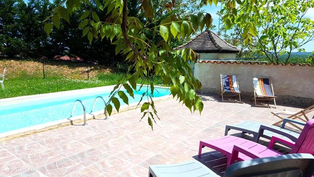 Privé zwembad (7-3) Villa Rosa