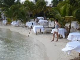 Heerlijk romantisch eten bij Old Man and the Sea