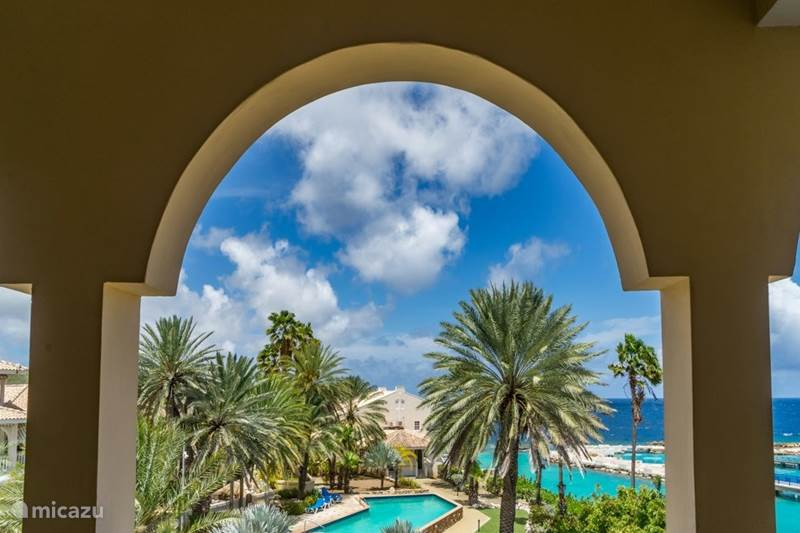 Vakantiehuis Curaçao, Banda Ariba (oost), Mambo Beach Appartement Curacao Ocean Resort Flamboyan