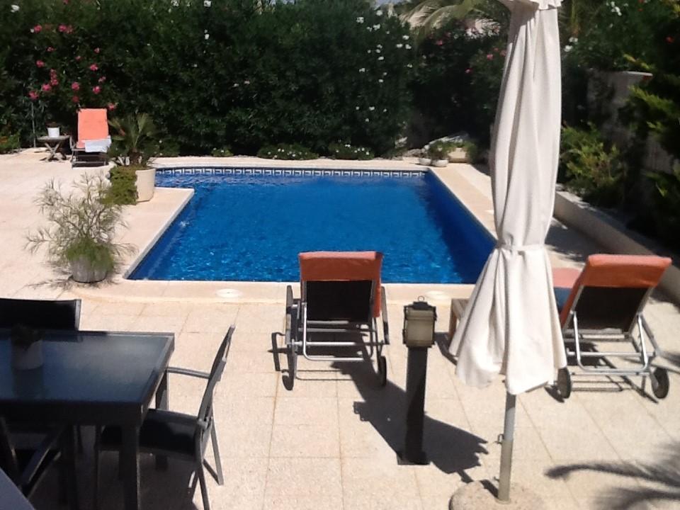 EVEN ER TUSSEN UIT !!! van 14 juli t/m 24 juli  € 1000.  10 dagen heerlijk in de zon met huis en eigen zwembad!!! excl.schoonmaak/service/borg