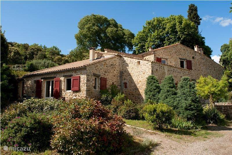 Vacation rental France, Languedoc-Roussillon, Saint-Félix-de-Pallières holiday house Mas Sivelou
