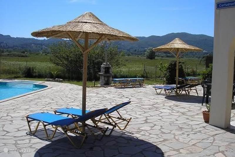 Vakantiehuis Griekenland, Corfu, Livadi Roppa Vakantiehuis Villa Roppa