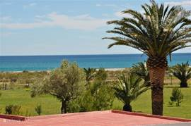 Casa Pieresa - uitzicht vanaf balkon