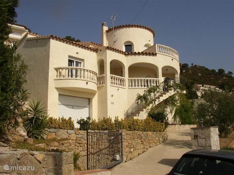 Vakantiehuis Spanje, Costa Brava, Palau Saverdera - villa Bella Vista