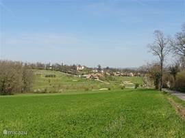 De naast het park gelegen golfbaan, u loopt er zo naar toe.
