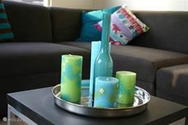 De kaarsen staan voor u klaar!