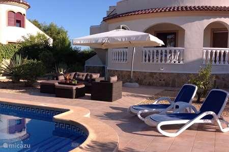 Vacation rental Spain, Costa Blanca, San Fulgencio La Marina  villa Casa Hulsken