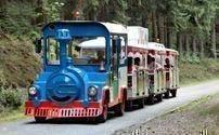 Touristische Zugfahrt