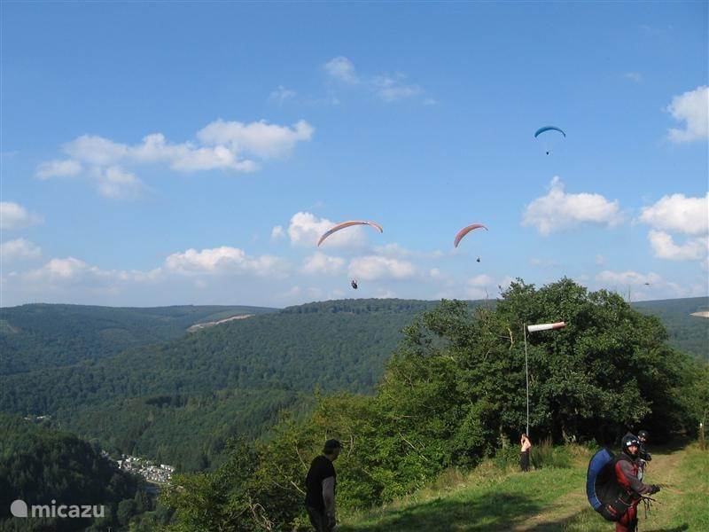 Paragliding in the Corimont La Roche